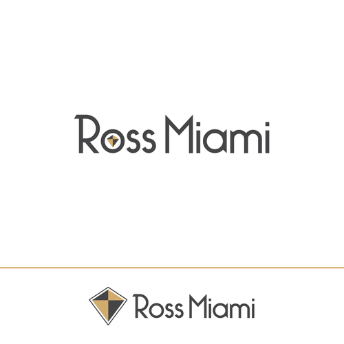 Create a logo for ROSSMiami - a new real estate platform in Miami, combining luxury & technology!