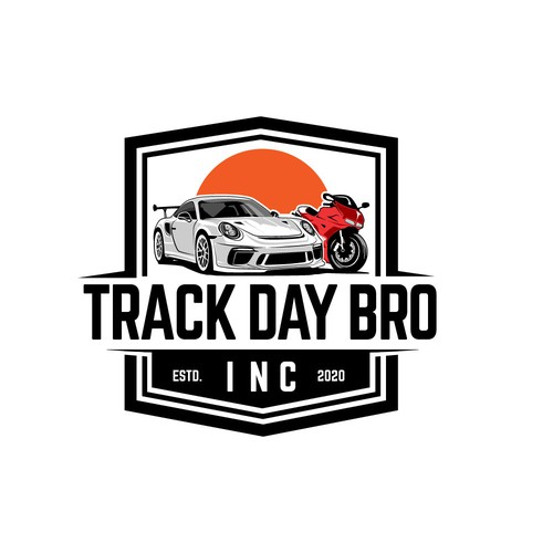 Logo for track day club