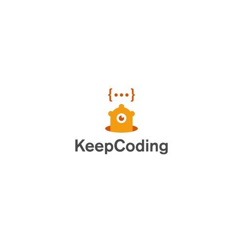 KeepCoding Logo Concept
