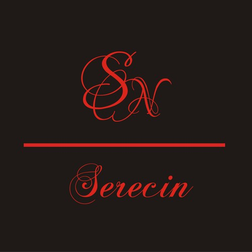 Luxury logo for high end fashion clothing concept