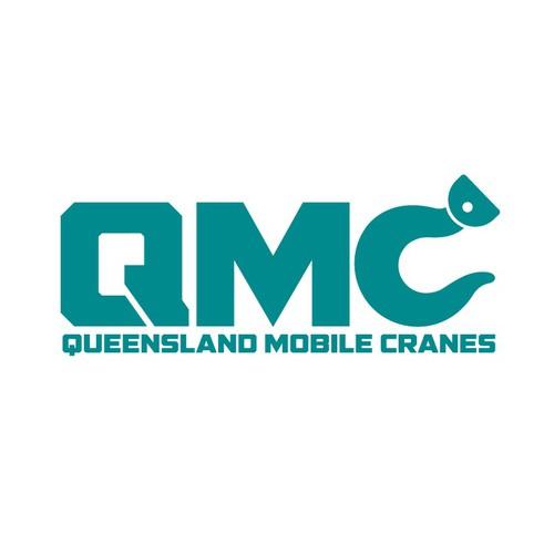 create a crane illustration for Qld Mobile Cranes