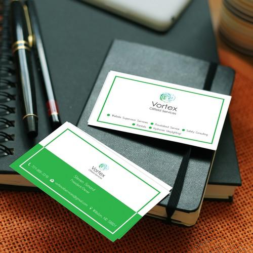 Vortex Oilfield Services Business Card
