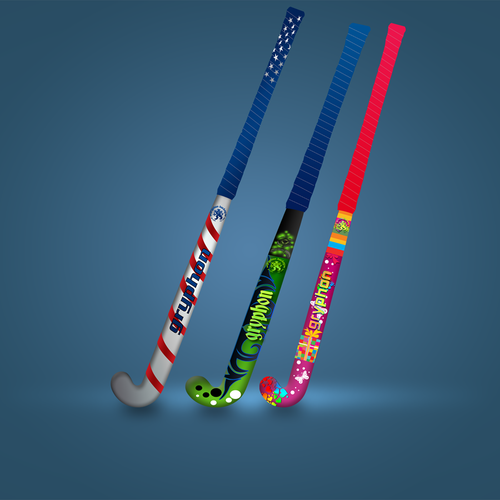 Create Hockey Stick Designs For A Worldwide Field Hockey Manufacturer!