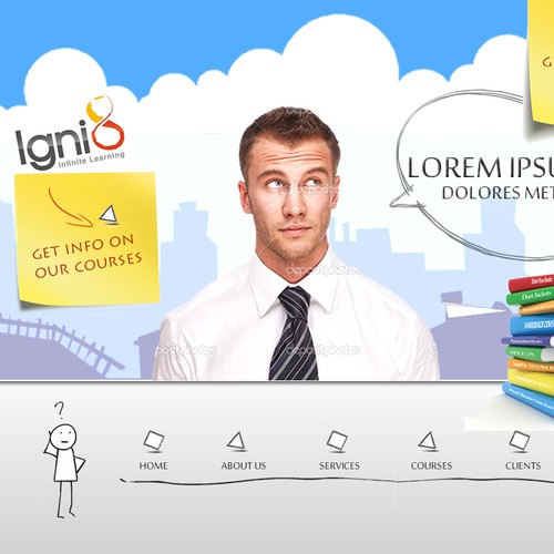 New website design wanted for Igni8 - Infinite Learning [5 pages]