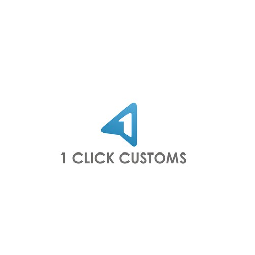 Logo Design for 1 Click Customs