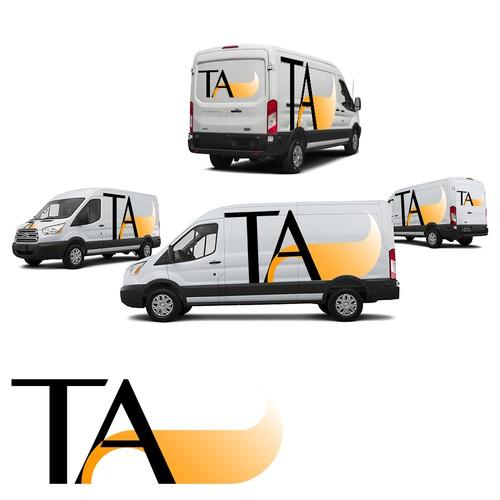 Transportation van wrap