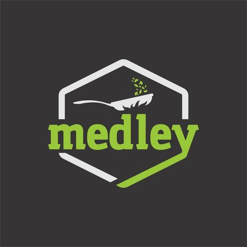 Bold logo for restaurant