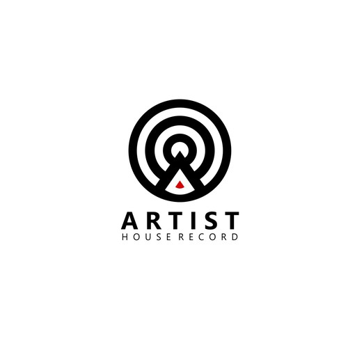 logo for artist house record