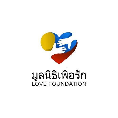Love Foundation logo design