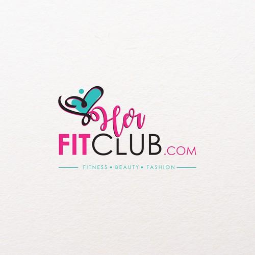 Logo Concept for Her Fit Club.com