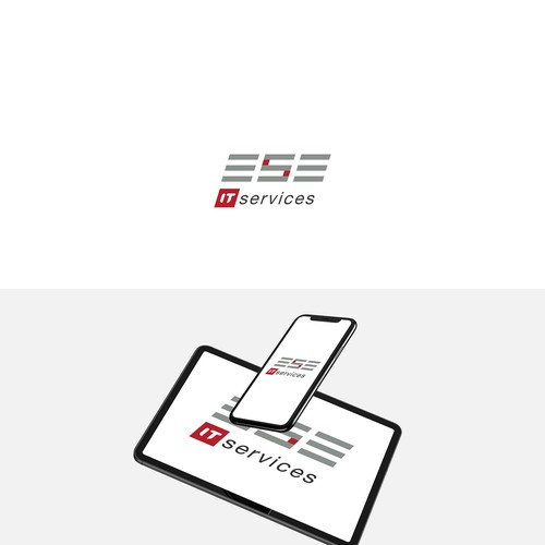 logo concept for IT company