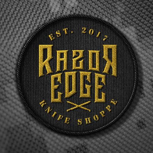 Knife shop logo