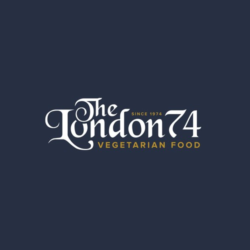 The London 74 - Logo Design