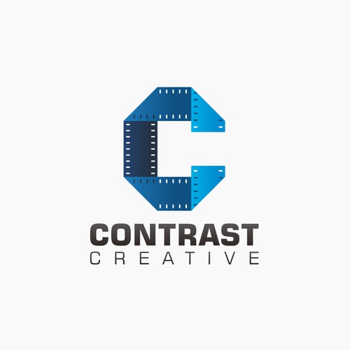 contrast creative logo