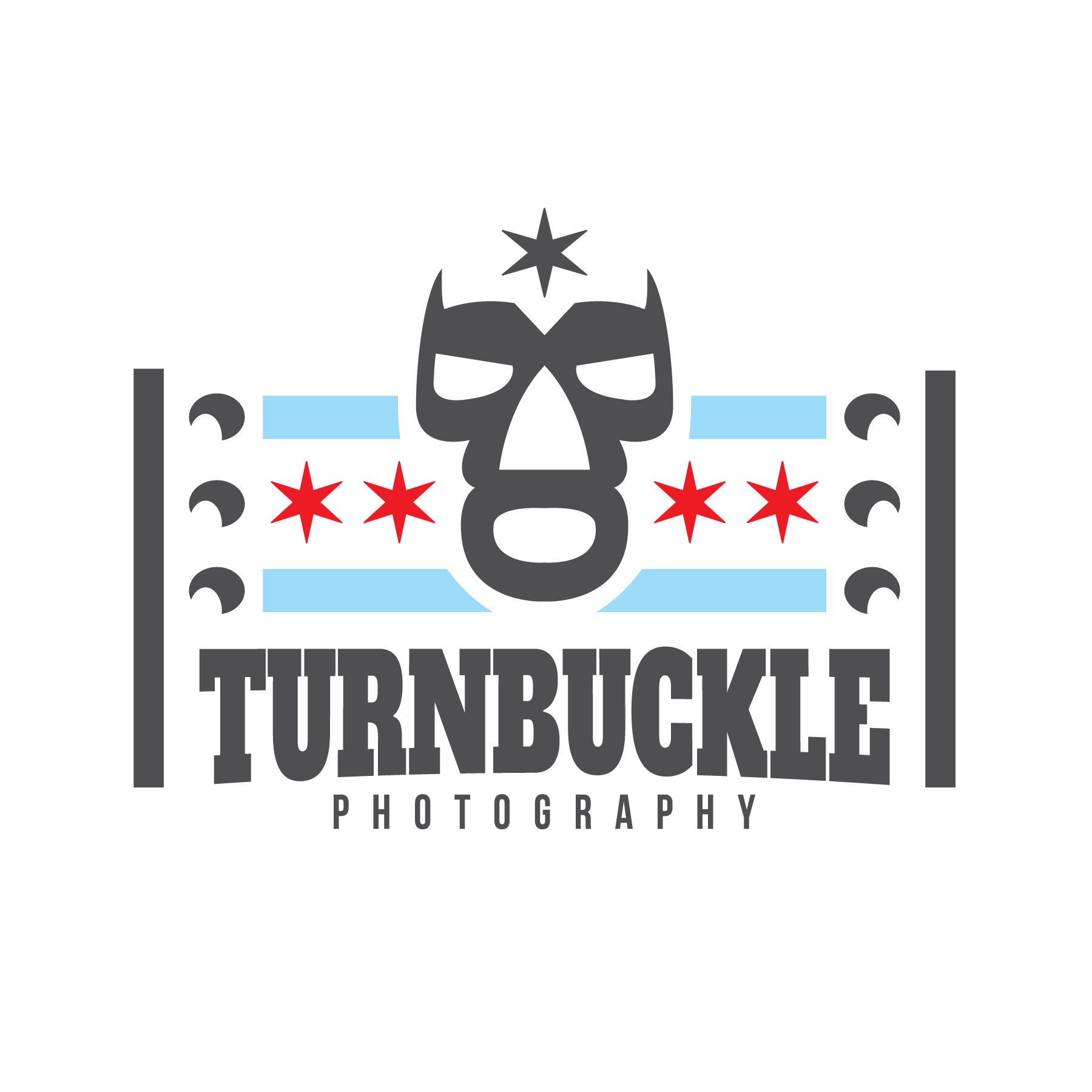 Create a pro wrestling logo for photography business