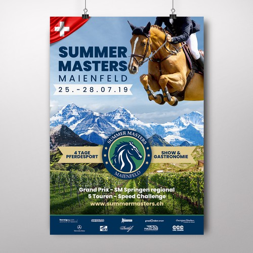 Summer Masters Poster