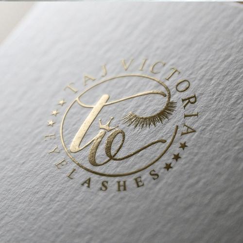 femine logo design concept for beauty company