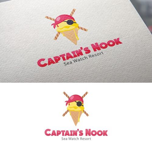 Logo concept for Captain's Nook