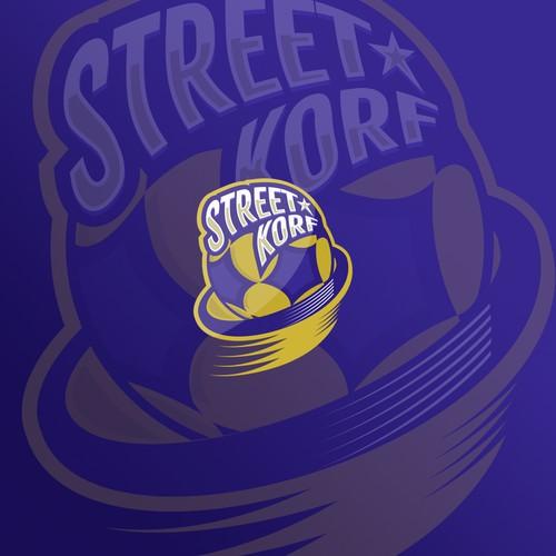 Concept logo for korfball