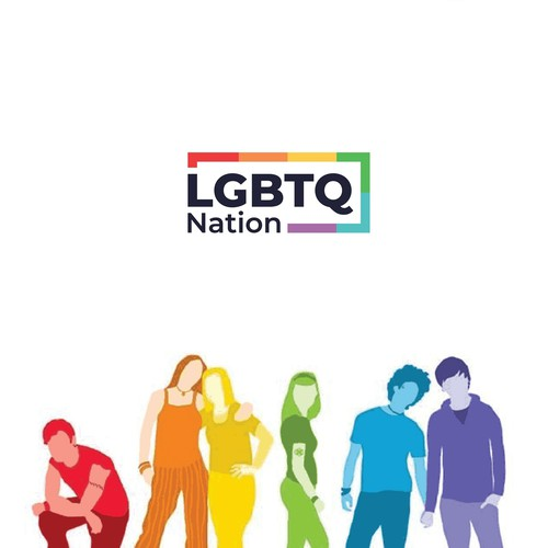 Logo for LGBTQ Nation