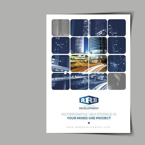Marketing brochure for real estate developer