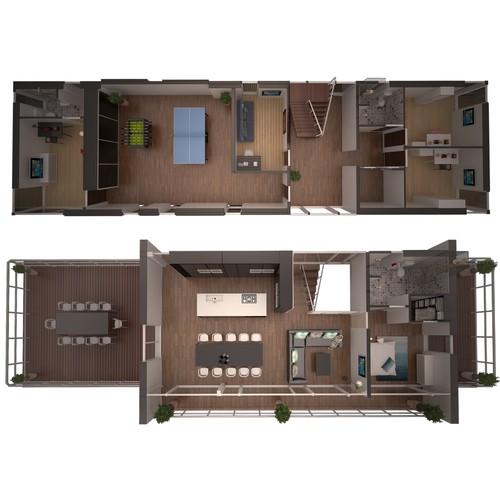 3d Layout Design