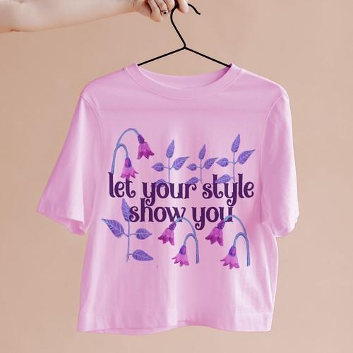 Feminine T-Shirt Design