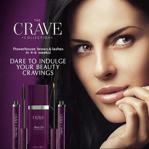 The Crave Cosmetics Magazine Ad