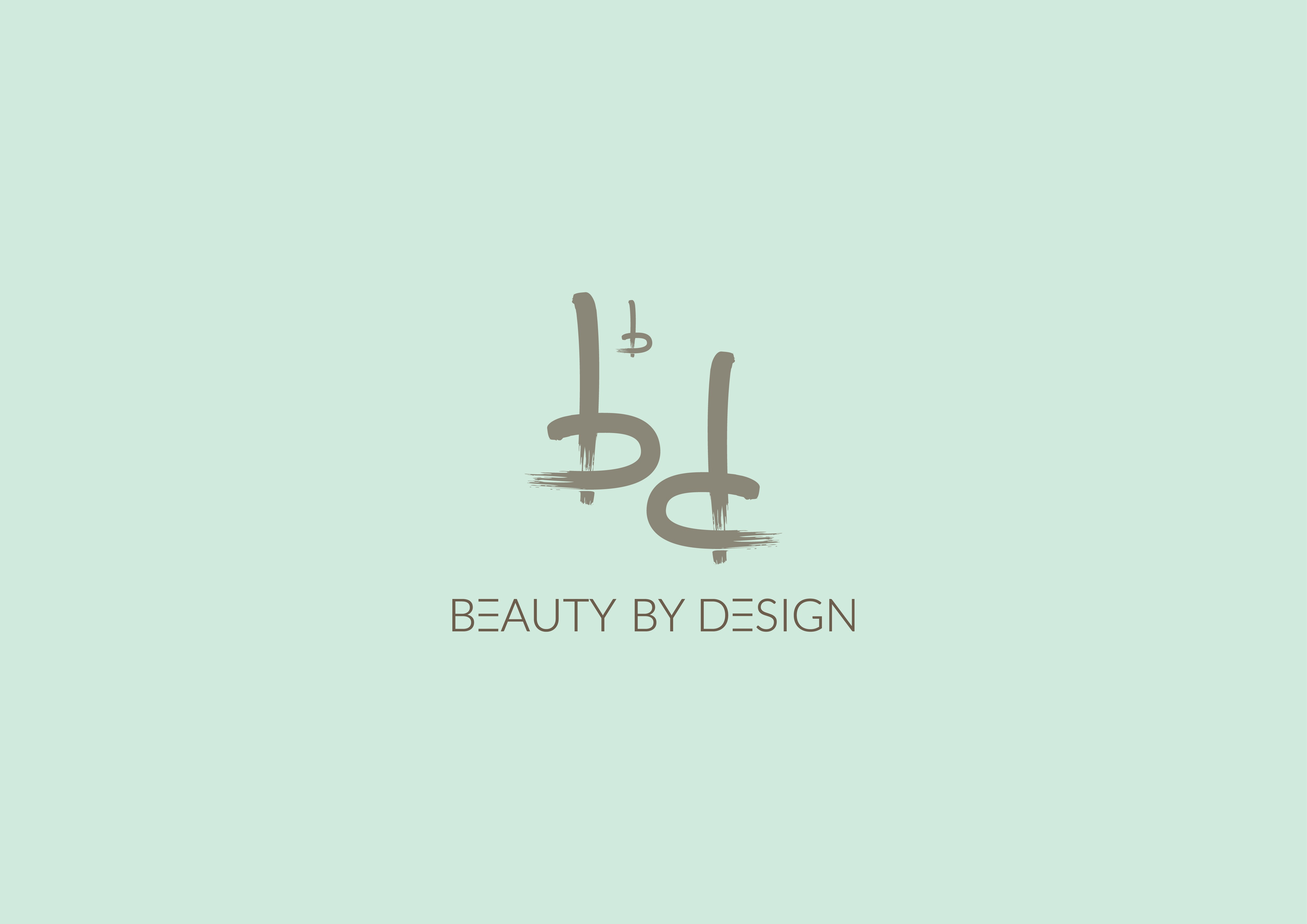 Turn our sketch into a clean, professional logo design for Beauty by Design!