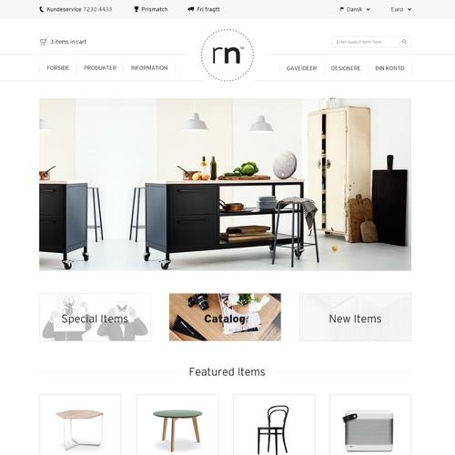 RoomNordic Home Redesign