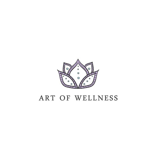 "Logo concept for ""art of wellness"""