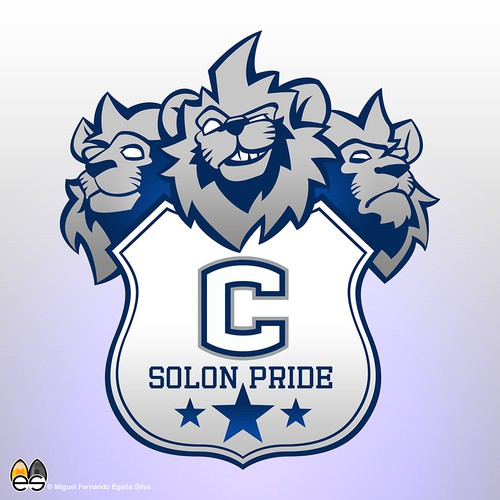 School Logo - Lion Team