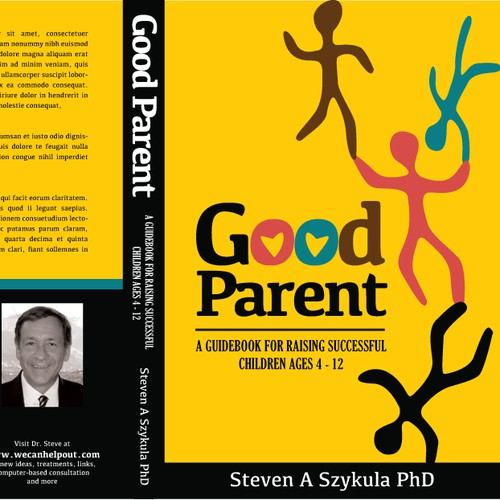 Create a book cover design for a Self-Help/Parenting book
