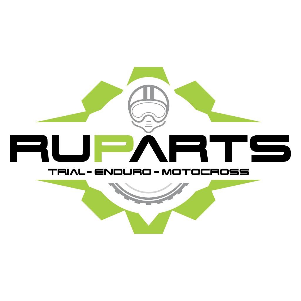 Cooles Logo für Motorradzubehör aus dem Internet.