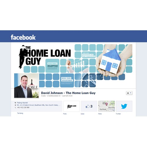 Create the winning design for the Home Loan Guy