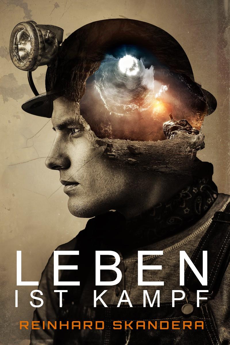 """Erstelle ein e-book Cover für den Roman """"Leben ist Kampf"""""""