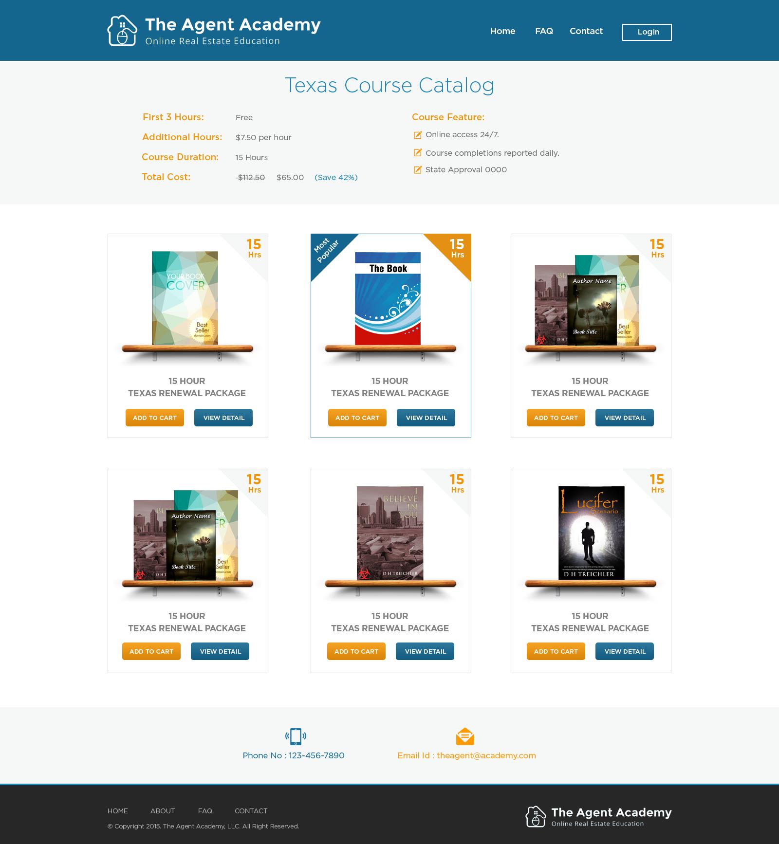 Real Estate Education Website