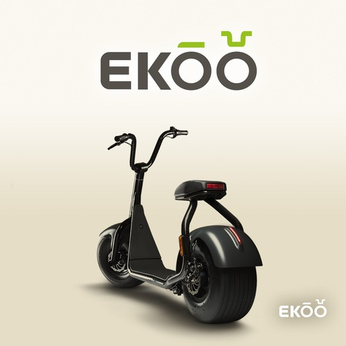 Logo design for a electric motorcycle