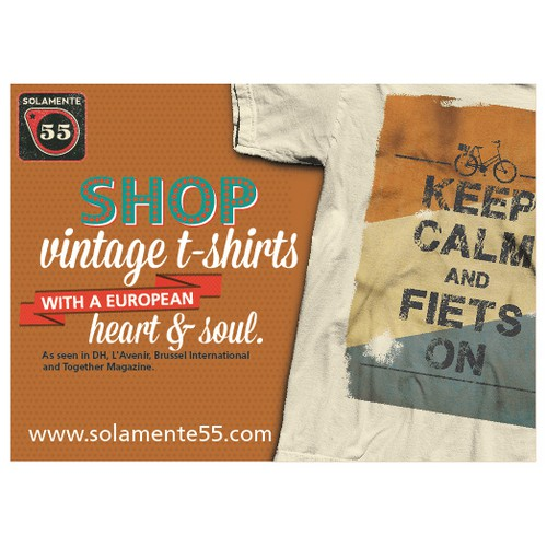 Create the next postcard or flyer for Solamente55