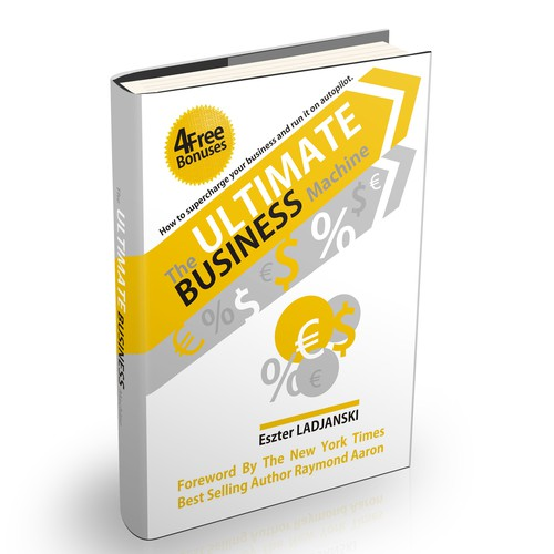 Create a Professional and Elegant Book Cover For A Business Book