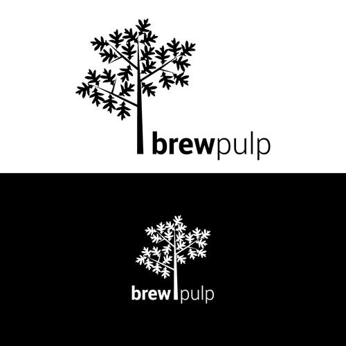 Logo concept for brewpulp