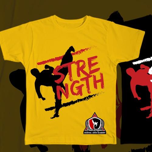 Martial Arts t-shirt design