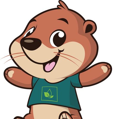 Otter Mascot