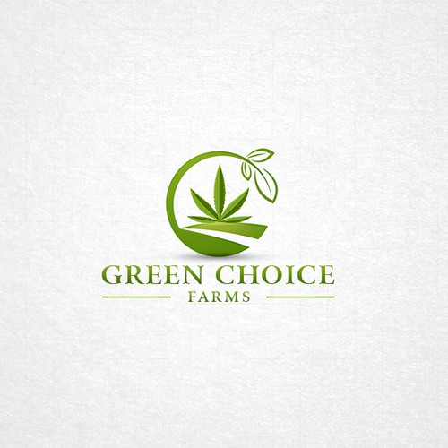 Logo for a marijuana farm