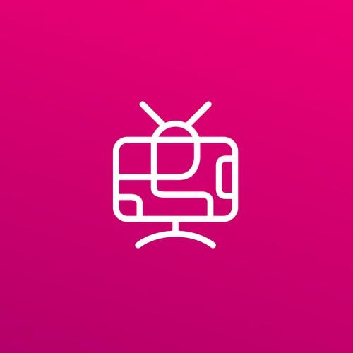Modern and Simple TV Program Logo