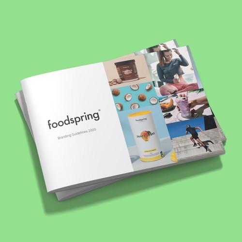 foodspring Branding Guidelines 2019