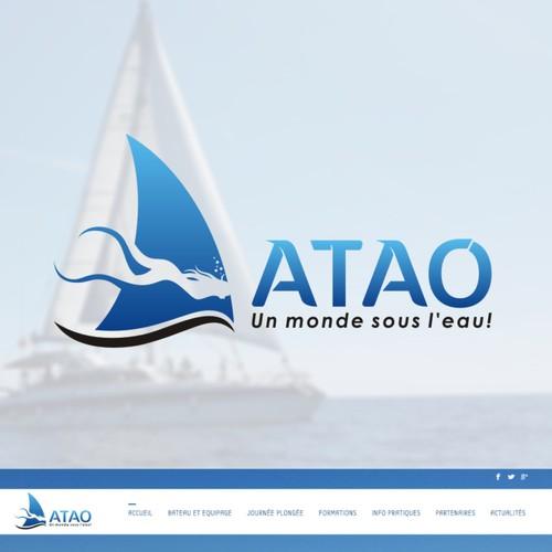Logo concept for ATAO
