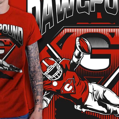 Create a SUPER sports shirt!
