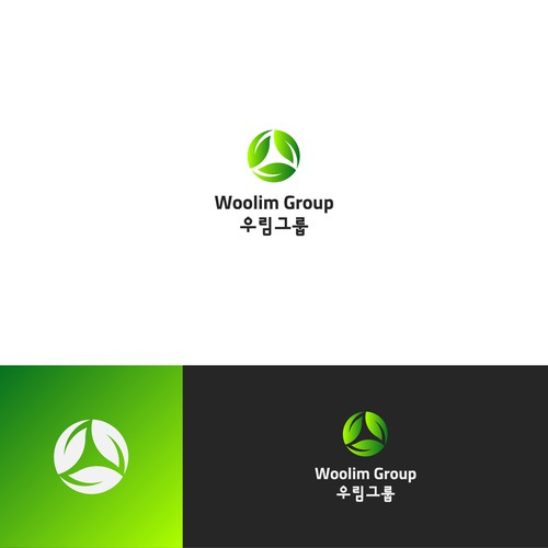Proposed new logo design for Woolim Group