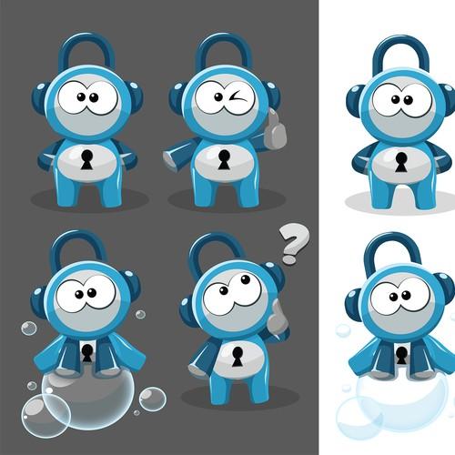 ZoomLocker Mascot/Character